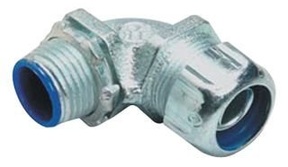 Thomas & Betts 5254 1 in. Malleable Iron Liquid Tight 90 Degree Conduit Connector, by Thomas & Betts (Image #1)