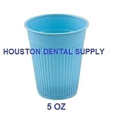 100 Disposable Dental Drinking Plastic C...