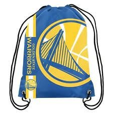 Golden State Warriors Big Logo Drawstring Backpack ()