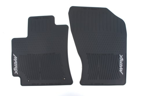 Genuine Toyota Accessories PT908-1201W-02 Front All-Weather Floor Mat - (Black), Set of 2