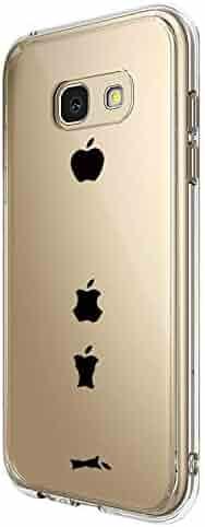 Replacement for Samsung Galaxy A5 2017, Panda Design Clear Transparent Soft TPU Rubber Bumper Silicone Phone case for Galaxy A5 2017 (5, Samsung Galaxy A5 2017)