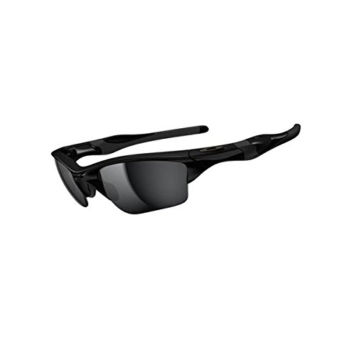 Oakley Golf Sunglasses - Oakley Mens Half Jacket 2.0 XL  OO9154-01 Iridium  Sunglasses,Polished Black Frame/Black Iridium Lens,one size