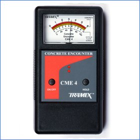 Tramex CME4 Tramex Non Destructive Concrete Moisture Meter Encounter 4, Measuring Range: 2-6% (Nondestructive Moisture)