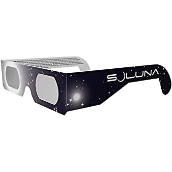 Solar Eclipse Glasses - Omegon Sunsafe CE and ISO Certified ...