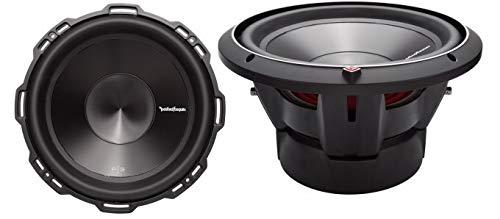 """2) ROCKFORD FOSGATE P3D2-10 10"""" 1000W 2-Ohm DVC Car Audio Subwoofers P3D210"""