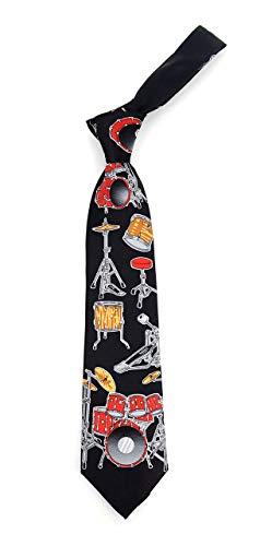 - Red Drums Music Novelty Necktie