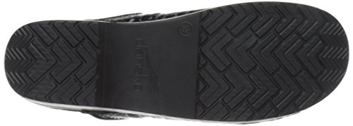 Stone Cabrio Women's Professional Black Clog Leather Patent Pro Dansko AS0zqxnwRS