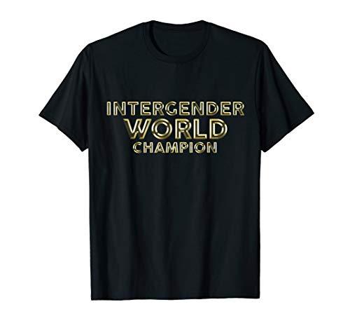 Intergender World Champion Boxing MMA Jiu Jitsu T-Shirt