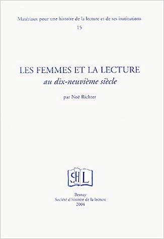 Les femmes et la lecture au dix-neuvième siècle epub, pdf