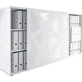 Swell Horizons Sliding Door Storage Cabinet Amazon Co Uk Office Best Image Libraries Weasiibadanjobscom