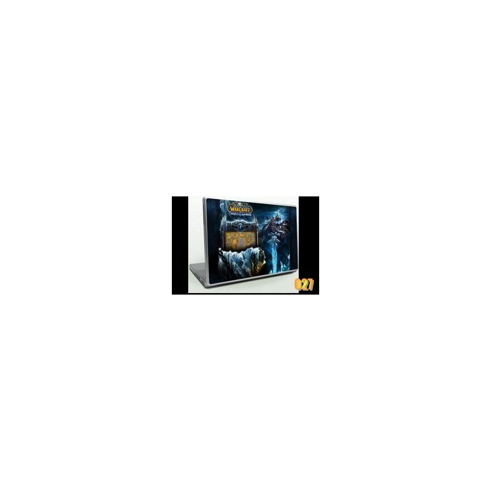 Unique GAMER WARCRAFT LAPTOP SKINS PROTECTIVE ART DECAL STICKER 2