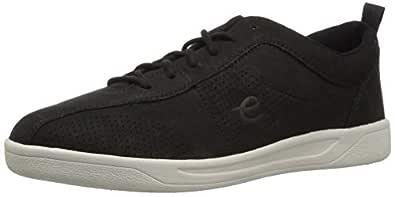 Easy Spirit Women's FRENEY8 Sneaker, Black, 5 M US