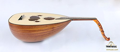 Turkish Quality Walnut String Instrument Oud Ud AO-207M by SALA