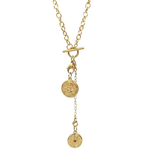 - Ellie Vail - Eliza Double Medallion Necklace