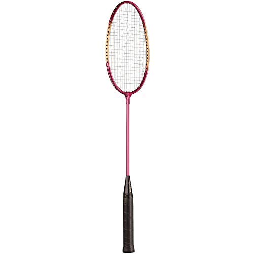 Champion Sports Aluminum Badminton Racket with Coated Steel Strings