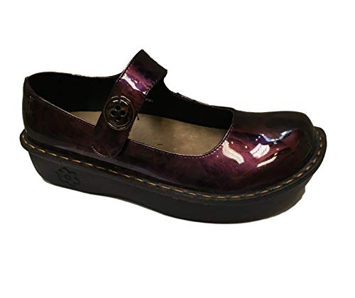 Savvy Women's Slip Resistant Nursing & Professional Slip On Clogs (8.5, Jane Pink Smoke Swirl)