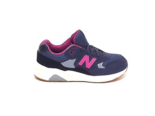 New Balance - Zapatillas para niño azul blu fuxia