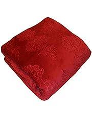 دفاية سرير زوجى لون أحمر من تيندي هوم