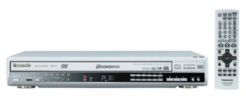 Panasonic DVD-F87S 5 Disc Progressive Scan DVD Player, Silver