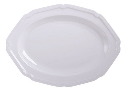 Mikasa Antique White Oval Serving Platter, 16-Inch by Mikasa