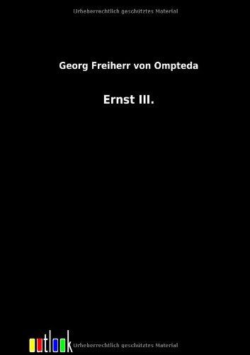 Read Online Ernst III. (German Edition) ebook