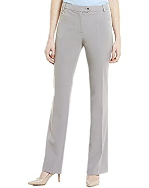 Calvin Klein Women's Petite Modern Fit Dress Pants Blue 10P
