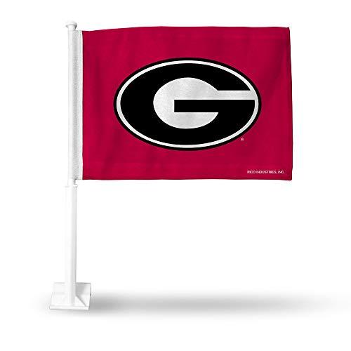 (Rico Industries NCAA Georgia Bulldogs Car Flag)