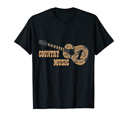 Country Music Legends Country Fans T-Shirt