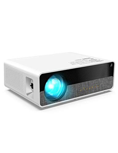 ELEPHAS Projector Q9 Native 1080P HD Video Projector Support 2K, 6800 Lumens up to 300 Image Display Ideal for PPT Business Presentations Home Theater Entertainment Parties Games