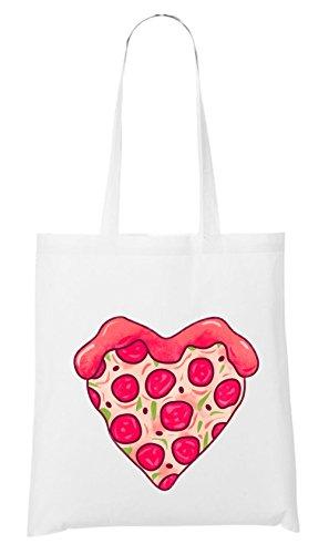 Pizza Love Bag White Certified Freak