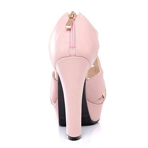 Piattaforma Mode Sandali pink 3 Donna Zanpa qY1wRR