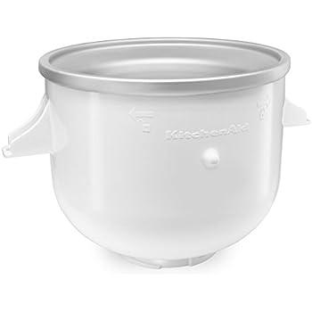 KitchenAid 7-Quart Only Ice Cream Sorbet Deserts or Frozen Yogurt Maker Attachment