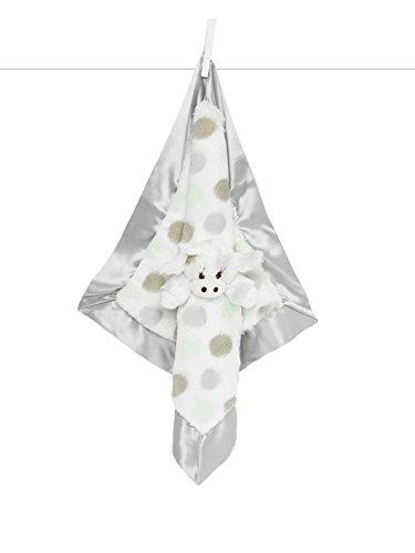 Little Giraffe Little G Blanky - Animal Security Blanket (Silver) by Little Giraffe