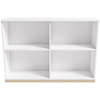 Amazon.com: Estantería Metálica, 2 estantes, 34 – 1/2 W X 12 ...