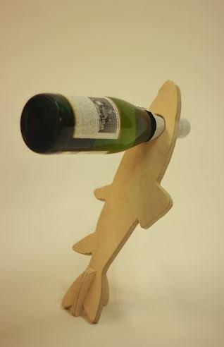 Fish floating wine bottle bottle holder us971 for Best wine with fish
