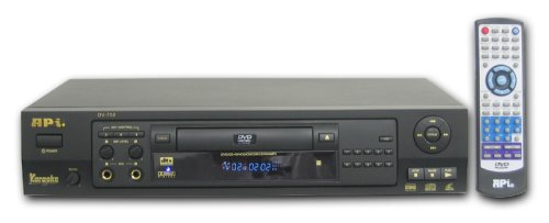 API DV-702 Professional DVD / DVD+R/RW / MPEG4 / CD+G / VCD Rack-Mountable Karaoke (Vcd Karaoke Player)
