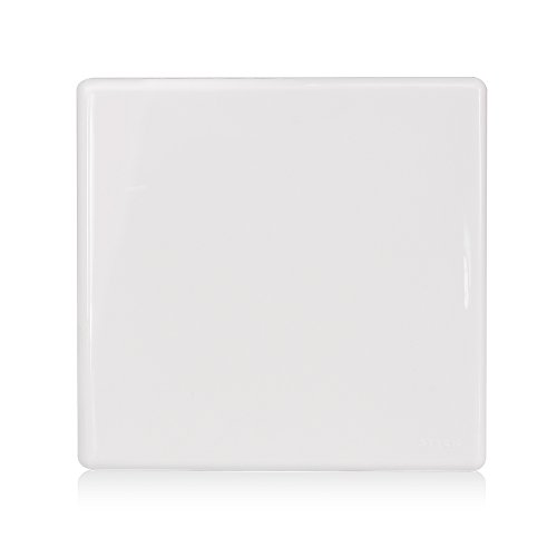 Placa Cega Com Suporte 4x4 Stella Steck Branco