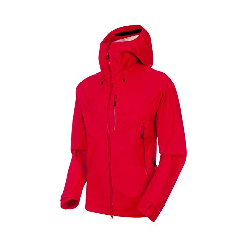 Mammut Kento HS Hooded Jacket Men; Size: M - Ruby