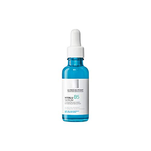 La Roche-Posay Hyalu B5 Pure Hyaluronic Acid Serum for Face, with Vitamin B5. Anti-Aging Serum Concentrate for Fine Lines. Hydrating, Repairing, Replumping. Suitable for Sensitive Skin, 1.01 Fl. Oz.