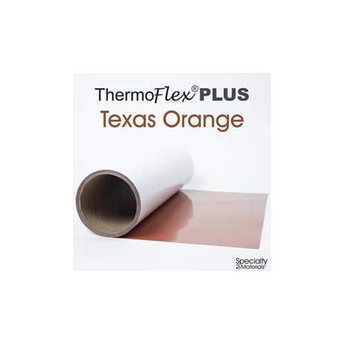 "LEMON YELLOW Thermoflex Plus 15/"" by 15 Feet Heat Transfer Vinyl"