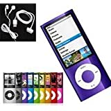 8GB Purple Mp3 and Mp4 Player with fm radio video player ebooks reader and more...
