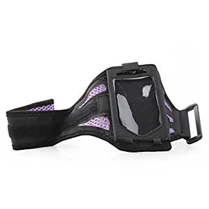 WQQ Premium Sports Armband for Apple iPhone 4/iTouch 4 - Purple