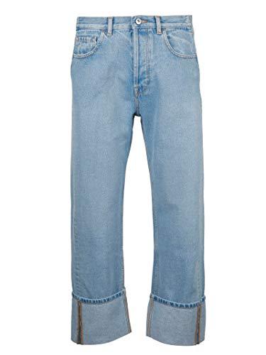 Jeans Bleu Homme Rv3de00cuhi508 Valentino Coton Xwxpqf46IW
