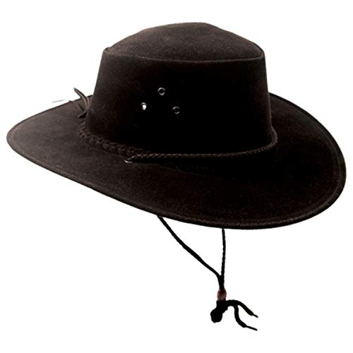 (Kakadu Traders 5H31 The Soaka Hat - Black - XXL)
