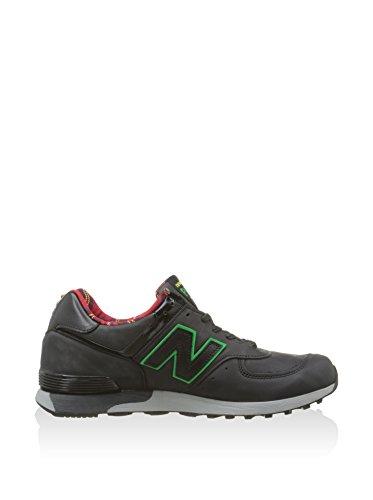 New Uomo Sneaker 42 Schwarz Balance Nero rot Eu awa1rEq