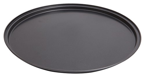 "Wee's Beyond 6852-C Non-Stick Easy Release Pizza Pan 13.5"", Dark Gray"