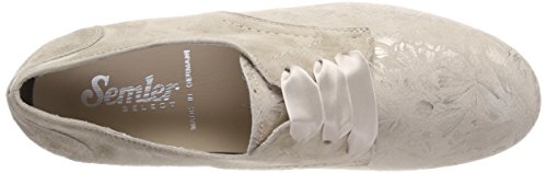 Nancy Semler Women's Panna Brogue Shoes Lace Up 028 Beige O5OZdqr