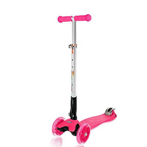 Price comparison product image Pigflytech kids Scooter Rose Red