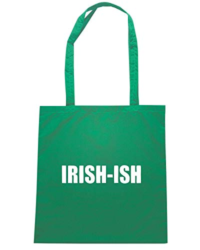 Speed Shirt Borsa Shopper Verde TIR0055 FUNNY IRISH S