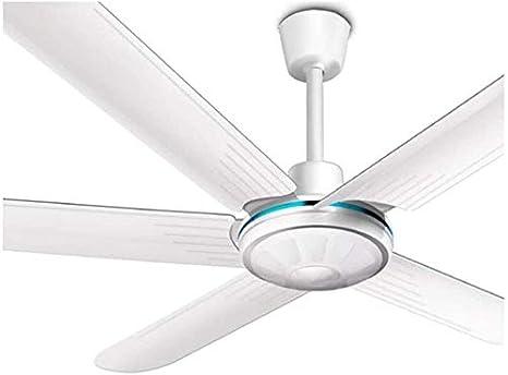 Ventilador de techo, techo portátil de aire más fresco del ventilador eléctrico del hogar de la sala del ventilador del techo del restaurante Ventilador Industrial 56 pulgadas Cinco ala grande Ventila